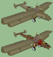 Wings over Aiers: the KFw Krage by kanyiko