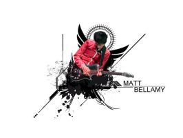 matt bellamy wallpaper by SMurdok