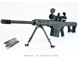 Barrett .50 Caliber Rifle by VashCasella