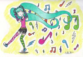 Miku's Music by WhotheGhost