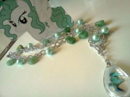 FIRST PONY OC INSPIRED NECKLACE-Seahorse Delight by CorterMoon
