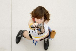 Yuna Gunner - FFX-2 Cosplay by theDevil-photography
