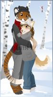Cold Days, Warm Hearts by etuix