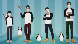 The Penguins of Madagascar by KaSaKu