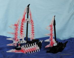 Bionicle MOC: Sailboats by Rahiden