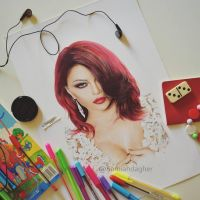 Haifa Wehbe by samiahdagher
