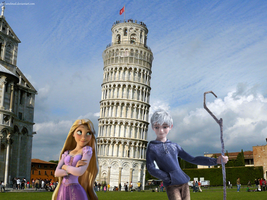 Jack And Rapunzel In Italia by gloriamelmed