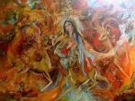 Iranian Painting-The Warmth Of by sonia-p