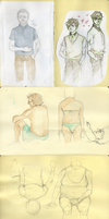 Sketchdump 3# by maayes