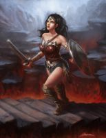 Wonderwoman by ShoZ-Art