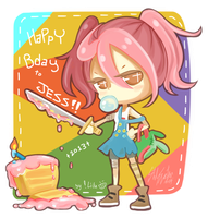 HBD to Jess 2013!! by Lilu-Leloo