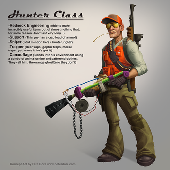 Hunter Class Concept by PeterMan2070