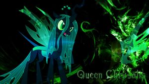 Queen Chrysalis Desktop Wallpaper! by 4EverRandomPuppy20
