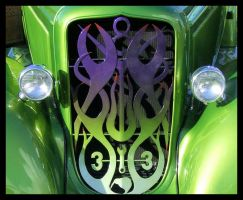 custom front grill by MissBlasphemous