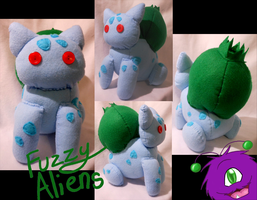 Bulbasaur Plush -For Sale- by FuzzyAliens