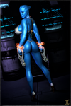 Asari Lysa T'Rana - What are you looking at? by ExGemini
