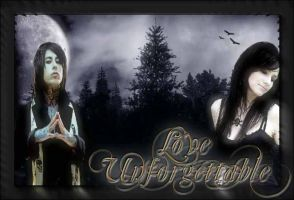 Love Unforgettable Cover Art by Gothic-Rebel