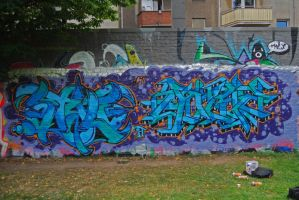 wall in koeln by Atoook