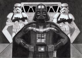 Darth vader 1 by PunkyMeadows