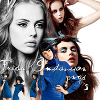 5 Frida Gustavsson PNGS by Nyssa-89