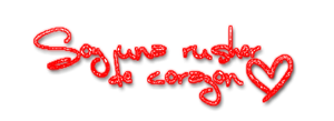 Texto PNG Rusher by Cata-Belieber