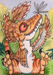 ACEO: Prehistoric Playtime by DanielleMWilliams