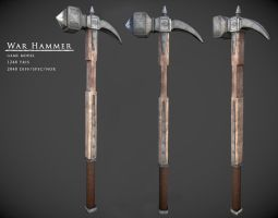 War Hammer by kenetand2