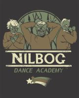 Nilbog Dance Academy by HillaryWhiteRabbit