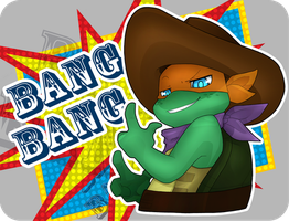TMNT: Bang Bang by NamiAngel
