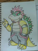 Teenage Bowser Ver. 2 -FIXED- by AwsmYoshi