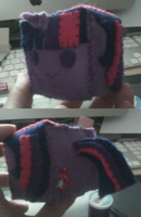 Twilight Sparkle Plushie Cube by CometTheMicroraptor
