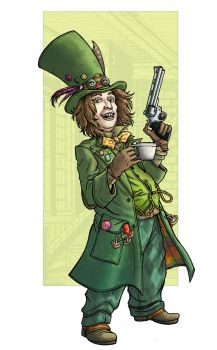 The Mad Hatter (Jervis Tetch) by PaulHanley