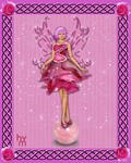 Rose Quarts Fairy by Anuden