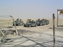 CAAT Platoon, On scean in Iraq by SteelClaw