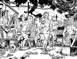 Trailer Park of Terror 10 pgs 30 and 31 by deankotz