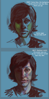 The stupid way I painted this by Leerer-Raum