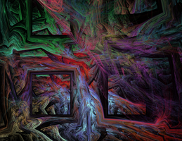 Window to the Otherworld by Adrolyn
