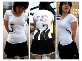 Tentacle T-Shirt by Harara