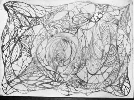 Abstract ornament 2 photo of the pencil sketch by exobiology