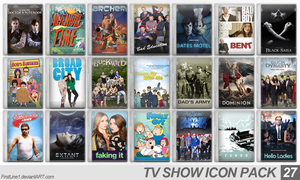 TV Show Icon Pack 27 by FirstLine1