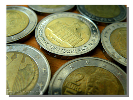 2 Euro Coins by WillFactorMedia