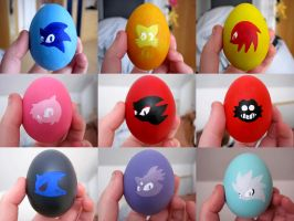 Sonic EasterEGG collection by Azurelly