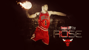Derrick Rose Wallpaper by WHU-Dan