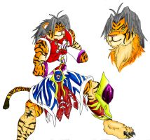 Hwan the Tiger by WolfAli