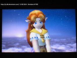 Malon in SSB 3DS by CJ-DB