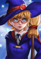 Lotte Yanson | Little Witch Academia by YO-ROPPA