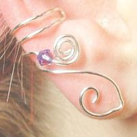 Celtic Goddess Ear Cuff by Thyme2dream
