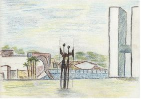 Brasilia by angeloup