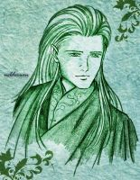 Legolas - pencil sketch by Neldorwen