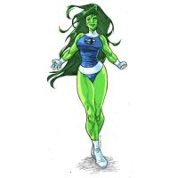 She-Hulk by dichiara